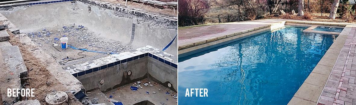 Boise pool remodeling idaho pool remodelers in boise meridian eagle pioneer pool and spa for Swimming pool contractors boise idaho